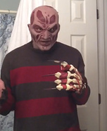 Freddy Krueger New Nightmare Homemade Costume