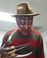 Freddy Kruger Homemade Costume