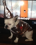 French Bulldog Tin Man Homemade Costume