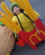 French Fries Homemade Costume
