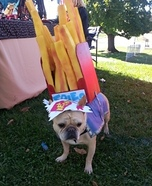 Frenchie Fries Dog Costume