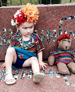 Frida Kahlo Toddler Costume