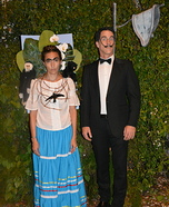 Frida Kahlo and Salvador Dali Homemade Costume
