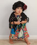 Frida Kahlo Baby Costume DIY