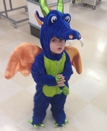 Friendly Dragon Baby Costume