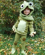 Frog Homemade Costume