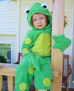 Froggy Girl Costume