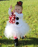 Frosty the Snow Princess Costume