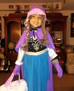 Frozen Anna Homemade Costume