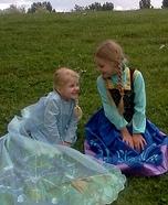 Frozen Elsa & Ana Costumes