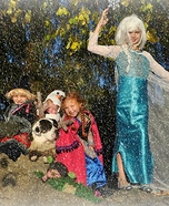 Frozen Movie Family Halloween Costume