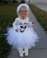 Frozen Olaf Costume for Girls