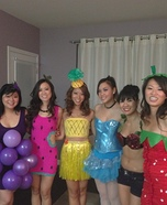 Fruit Salad Group Costume