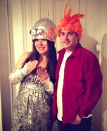 Fry and Bender DIY Couple Costume