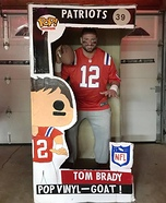 Funko Pop Brady Homemade Costume