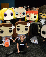 Funko POP Horror Movie Characters Homemade Costume