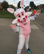 Funtime Foxy Homemade Costume