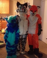 Furry Gang Homemade Costume