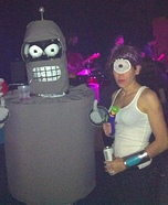 Futurama Bender and Crew Costume