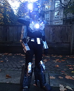 Futuristic Robot Homemade Costume