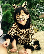 Fuzzy Leopard Homemade Costume