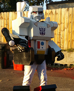G1 Megatron Homemade Costume