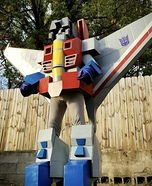 G1 Starscream Homemade Costume