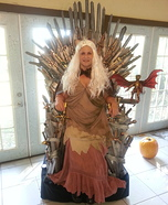 Creative DIY Costume Ideas for Women - Game of Thrones Khaleesi Costume
