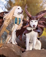 Game of Thrones Dogs Homemade Costume