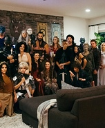Game of Thrones Group Party Homemade Costume