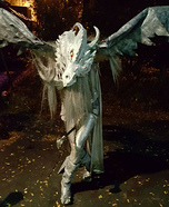 Game of Thrones Ice Dragon Homemade Costume