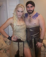 Coolest couples Halloween costumes - Game of Thrones: Khaleesi & Drogo Costume