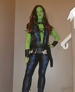 Gamora from Guardians of the Galaxy Homemade Costume