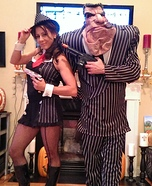 Gangsters Couple's Costume