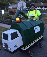 Garbage Man Homemade Costume