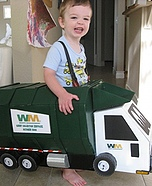 Garbage Truck Costume Homemade