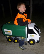 DIY Garbage Truck Costume