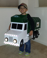 Homemade Garbage Truck Costume