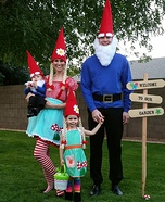 Garden Gnomes Homemade Costume