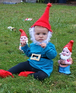 DIY Garden Gnome Costume for Babies