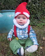 Costume ideas for baby's first Halloween - Garden Gnome Costume