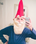 Garden Gnome Homemade Costume