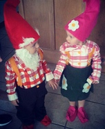Homemade Garden Gnomes Costumes for Kids