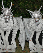 Homemade Gargoyles Costume