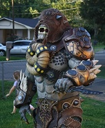 Gears of War Savage Locust Homemade Costume