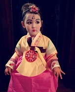 Geisha Homemade Costume