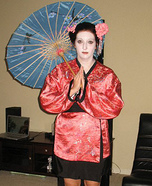 Homemade Geisha Costume