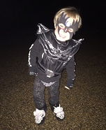 Gene Simmons Baby Boy Homemade Costume