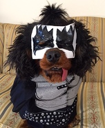 Gene Simmons Dog Costume