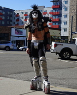 Gene Simmons Dr. Love Homemade Costume